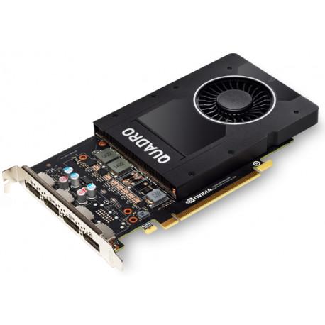 NVIDIA QUADRO P2200 - Carte graphique - Quadro P2200 - 5 Go - PCIe x16 - 4 x DisplayPort - pour Celsius C780, J5010, J550, J580