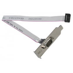 cable Serial port option Cable for 2nd RS-232-C 9 pin interface Occupies PCI slot For RX300 S3