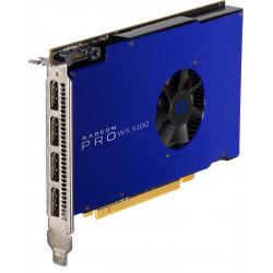 AMD Radeon Pro WX 5100 - Carte graphique - Radeon Pro WX 5100 - 8 Go - PCIe 3.0 x16 - 4 x DisplayPort - pour Celsius J5010, J58