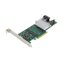 Fujitsu PSAS CP400i - Contrôleur de stockage (RAID) - 8 Canal - SATA 6Gb/s / SAS 12Gb/s profil bas - 12 Gbit / s - RAID 0, 1 -