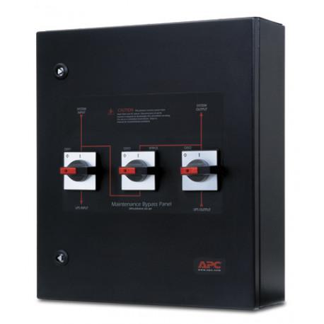APC Service Bypass Panel - Bypass switch - CA 400 V - triphasé - connecteurs de sortie : 2 - noir - pour Smart-UPS VT 30kVA, 40