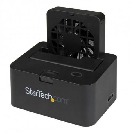 """StarTech.com Station d'accueil USB 3.0 / eSATA externe pour disque dur SATA III 6 Gb/s 2,5""""/3,5"""" - Dock HDD / SSD avec UASP"""