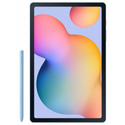 "Samsung Galaxy Tab S6 Lite - Tablette - Android 10 - 64 Go - 10.4"" TFT (2000 x 1200) - Logement microSD - bleu angora"
