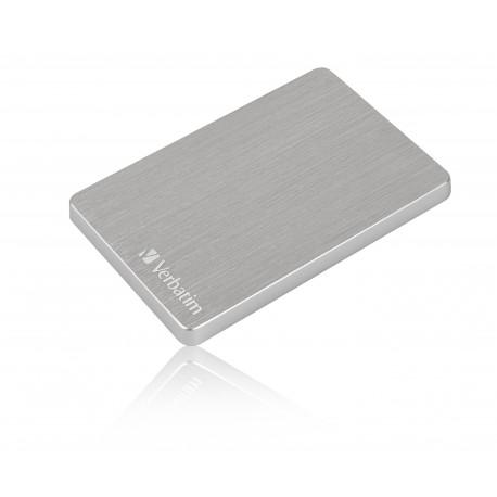 Verbatim Store 'n' Go ALU Slim - Disque dur - 2 To - externe (portable) - USB 3.2 Gen 1 - argent