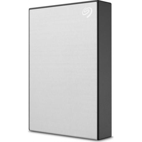 Seagate One Touch HDD STKB1000401 - Disque dur - 1 To - externe (portable) - USB 3.2 Gen 1 - argent - avec 2 ans de Seagate Res