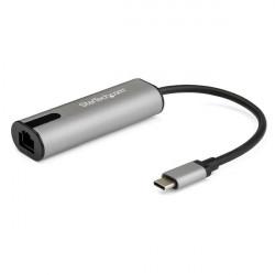 Ajoutez un accès réseau de 2,5 GbE à votre ordinateur portable en utilisant un port USB-C disponible. Cet adaptateur réseau USB