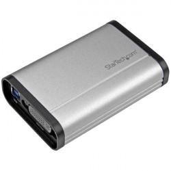 StarTech.com Boîtier d'acquisition vidéo DVI haute performance par USB 3.0 - Enregistreur vidéo compact - 1080p 60 fps - Alumin