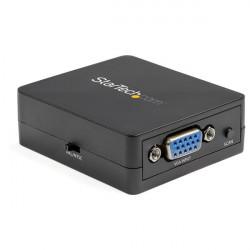 StarTech.com 1080p VGA to RCA and S-Video Converter - USB Powered - Convertisseur interface vidéo - VGA / S-Video / vidéo compo