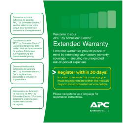 APC Extended Warranty Service Pack - Support technique - support téléphonique - 3 années - 24x7 - pour P/N: SURT20KRMXLT-TF5, S