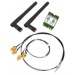 Shuttle WLN-M WLAN kit - Adaptateur réseau - M.2 Card - Bluetooth 4.0, 802.11ac - pour XPC slim DH310V2