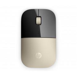 HP Z3700 - Souris - LED bleue - sans fil - 2.4 GHz - récepteur sans fil USB - or - pour OMEN Obelisk by HP 875, HP 15, 27, ENVY