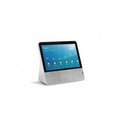 """Lenovo Smart Display - Affichage intelligent - LCD de 7"""" - sans fil - Wi-Fi, Bluetooth - 10 Watt - blanc blizzard"""
