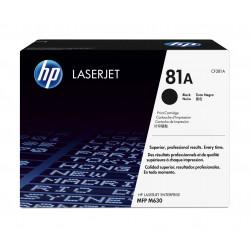 HP 81A - Noir - original - LaserJet - cartouche de toner (CF281A) - pour LaserJet Enterprise MFP M630, LaserJet Enterprise Flow