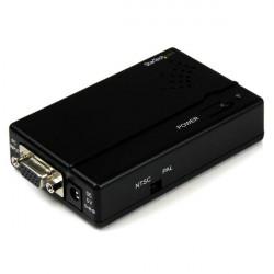 StarTech.com Convertisseur haute résolution VGA vers Composite ou S-Video. - Convertisseur vidéo - VGA - vidéo composite, S-vid