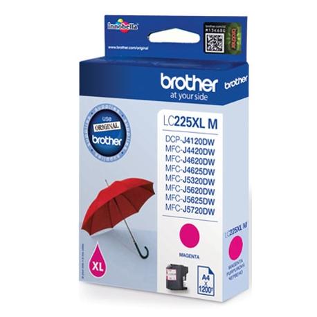 Brother LC225XLM - Magenta - original - cartouche d'encre - pour Brother DCP-J4120, MFC-J4420, J4620, J5320, J5620, J5625, J57