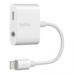 """Belkin Adaptateur 3,5 mm RockStar"""" audio + recharge (adaptateur AUX / adaptateur de recharge pour iPhone XS, iPhone XS Max, iP"""