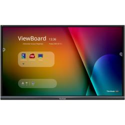 """ViewSonic ViewBoard IFP6550-3 - Classe de diagonale 65"""" écran LCD rétro-éclairé par LED - interactive - avec écran tactile (mu"""