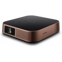 ViewSonic M2 - Projecteur DLP - LED - 3D - 1200 lumens - Full HD (1920 x 1080) - 16:9 - 1080p - IEEE 802.11a/b/g/n sans fil / B