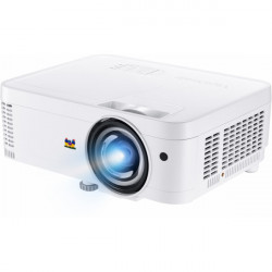 PS501W/WXGA (1280x800), 3400 lumens, 22000:1 contrast, exclusive SuperColor technology, 0.6 short throw ratio, 32dB/27dB noise