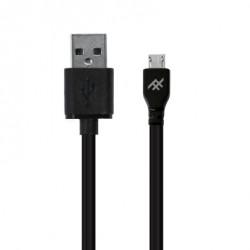 Cable USB-A vers MicroUSB 1m noir