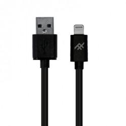 Cable USB-A vers Light. 3m noir