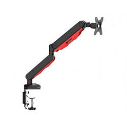 """Iiyama DSG3001C-R1 - Kit de montage - pour Écran LCD (bras réglable) - noir, rouge dynamique - Taille d'écran : 17""""-30"""" - mo"""
