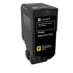 Lexmark - À rendement élevé - jaune - original - cartouche de toner LCCP, LRP, Entreprise Lexmark - pour Lexmark CX725de, CX725