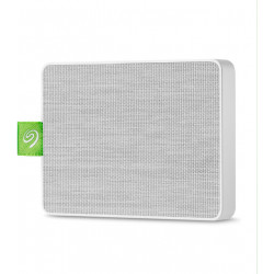Seagate Ultra Touch STJW500400 - Disque dur - 500 Go - externe (portable) - USB 3.0 - blanc