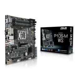 ASUS P10S-M WS - Carte-mère - micro ATX - Socket LGA1151 - C236 Chipset - USB 3.0 - 2 x Gigabit LAN - carte graphique embarquée