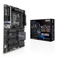 ASUS WS C422 SAGE/10G - Carte-mère - SSI CEB - LGA2066 Socket - C422 Chipset - USB 3.1 Gen 1, USB-C Gen2, USB 3.1 Gen 2 - 2 x 1