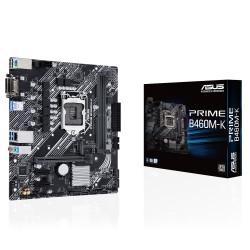 ASUS PRIME B460M-K - Carte-mère - micro ATX - Socket LGA1200 - B460 Chipset - USB 3.2 Gen 1 - Gigabit LAN - carte graphique emb