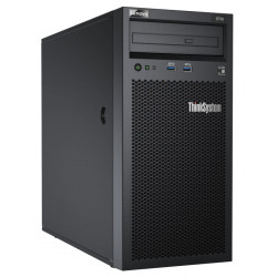 "Lenovo Serveur Tour: ST250 Xeon E-2224 (4C 3.4GHz 8MB Cache/71W), 1x16GB, O/B, 2.5"" HS (8), SW RAID, HS 550W, XCC Standard, DV"