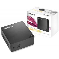 Gigabyte BRIX s GB-BLCE-4105 (rev. 1.0) - Barebone - Ultra Compact PC Kit - 1 x Celeron J4105 / 1.5 GHz - RAM 0 Go - UHD Graphi