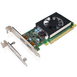NVIDIA GeForce GT730 - Carte graphique - GF GT 730 - 2 Go GDDR5 - PCIe 2.0 x8 profil bas - DisplayPort - pour ThinkCentre M710,
