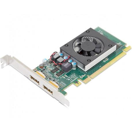 AMD Radeon 520 - Carte graphique - Radeon 520 - 2 Go GDDR5 - 2 x DisplayPort - OEM - pour ThinkCentre M70t, M720t, M80t, M90t,