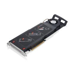 Lenovo ThinkStation Quad AIC M.2 SSD Adapter - Support pour unité de stockage (boîtier) - rainure d'extension jusque 4 x M.2 -