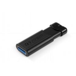 Verbatim Store 'n' Go Pin Stripe USB Drive - Clé USB - 16 Go - USB 3.0 - noir