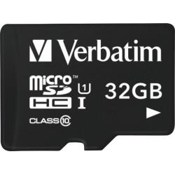 Verbatim Tablet - Carte mémoire flash - 32 Go - Class 10 - microSDHC UHS-I