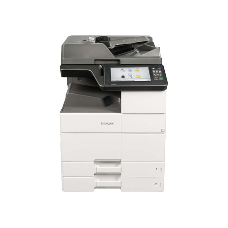 Lexmark MX912de - Imprimante multifonctions - Noir et blanc - laser - 297 x 432 mm (original) - A3/Ledger (support) - jusqu'à
