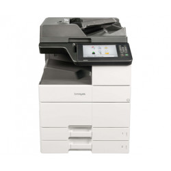 Lexmark MX910de - Imprimante multifonctions - Noir et blanc - laser - 297 x 432 mm (original) - A3/Ledger (support) - jusqu'à