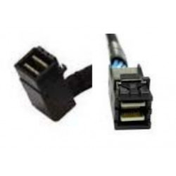 Intel mSAS-HD Cable Kit AXXCBL850HDHRS - Câble interne SAS - Disque dur SAS Mini 4x (SFF-8643) (M) droit pour Disque dur SAS Mi
