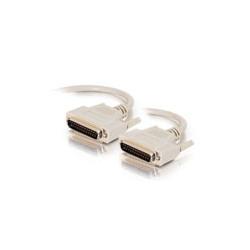 C2G - Câble de modem nul - DB-25 (M) pour DB-25 (M) - 2 m