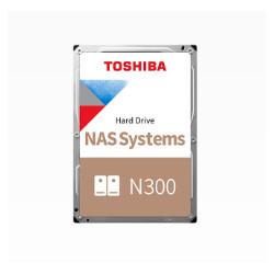 """Toshiba N300 NAS - Disque dur - 8 To - interne - 3.5"""" - SATA 6Gb/s - 7200 tours/min - mémoire tampon : 256 Mo"""
