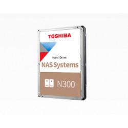 """Toshiba N300 NAS - Disque dur - 6 To - interne - 3.5"""" - SATA 6Gb/s - 7200 tours/min - mémoire tampon : 256 Mo"""