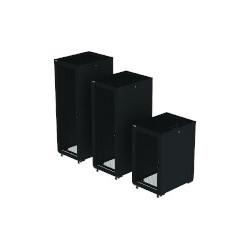 "Eaton RA Series - Rack armoire - 4 montants - noir, RAL 9005 - 42U - 19"""