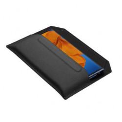 Huawei Envelope - Étui pour téléphone portable - cuir - noir - pour Huawei Mate Xs