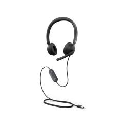 Modern USB Headset XZ/NL/FR/DE Hdwr Blac