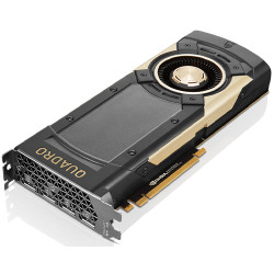 NVIDIA Quadro GV100 - Carte graphique - Quadro GV100 - 32 Go HBM2 - PCIe 3.0 x16 - 4 x DisplayPort - pour ThinkStation P520, P6
