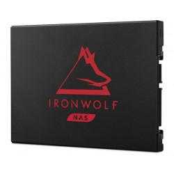 """Seagate IronWolf 125 ZA2000NM1A002 - Disque SSD - 2 To - interne - 2.5"""" - SATA 6Gb/s - avec 3 ans de Seagate Rescue Data Recov"""