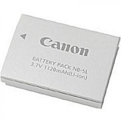 Canon NB-5L - Pile pour appareil photo - Li-Ion - 1120 mAh - pour PowerShot S110, PowerShot ELPH SD790, SD850, SD870, SD880, SD